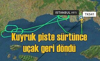THY uçağı, İstanbul üstünde 3 saat tur attı