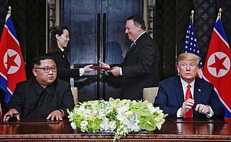 Trump-Kim ortak açıklaması taahhütlerle dolu