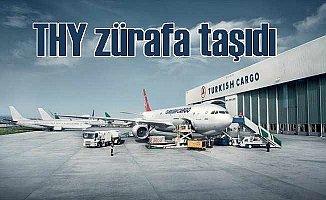 Turkish Cargo önce balık sonra zürafa taşıdı