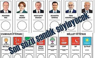 Türkiye sandık başına gidiyor: Son sözü halk söyleyecek!