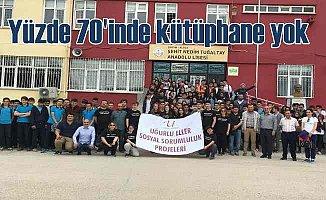 Türkiye'deki okulların yüzde 70'inde kütüphane yok