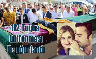 112 Tuğba'ya hüzünlü veda: Gözyaşları sel oldu