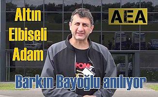 Altın Elbiseli Adam Barkın Bayoğlu mezarı başında anılacak
