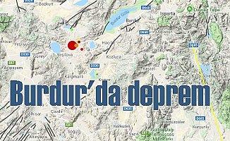 Burdur'de deprem oldu; Burdur 4.7 ile sallandı