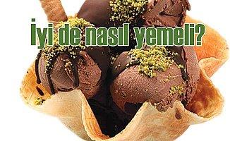 Dondurma nasıl yenir? Uzmanından dondurma yeme önerisi