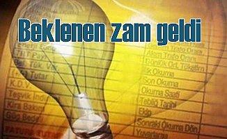 Elektriğe zam; EPK'dan vatandaşlara acı haber