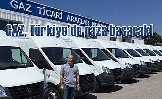 GAZ Türkiye pazarında hedef büyültüyor;