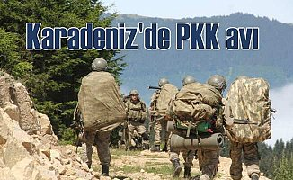 Giresun'da PKK operasyonu; 3 terörist çembere alındı