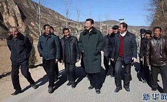 Jinping, Liangjiahe'ye döndü