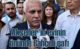 Koray Aydın'dan Akşener'in önünde büyük gaf; 'Liderimiz Devlet Bahçeli'