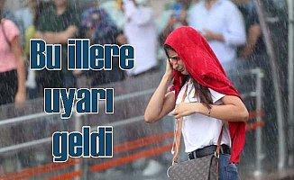 Meteoroloji'den Marmara ve İç Anadolu bölgeleri için uyarı