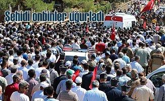 Şehit Ahmet Altun'u onbinler uğurladı: Van'da şehit düşmüştü