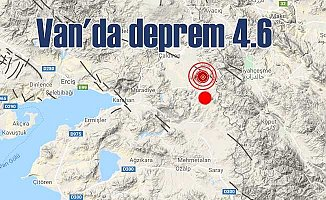 Van'da deprem | Van Çaldıran 4.6 ile sallandı