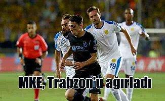 Ankaragücü Trabzon'u evinde ağırladı: 2 - 2