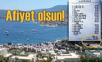 Bodrum Türkbükü'nde tatilcilere hesap kazığı