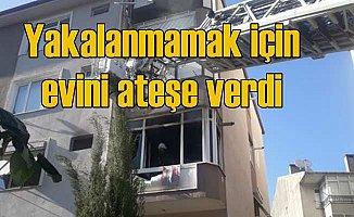 Cezaevinden kaçan özel harekatçı yakalanmamak için evini yaktı