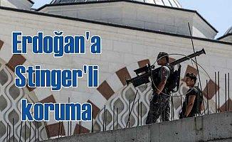 Erdoğan'a camii kubbesinde uçaksavarlı koruma