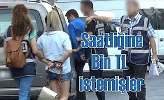 İzmir'de fuhuş operasyonu; 2 saatliğine Bin TL istemişler