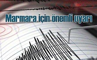 Kandilli'den Marmara'da beklenen depremi için önemli uyarı