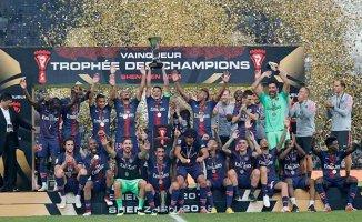 PSG Fransa Süper Kupası'nın sahibi