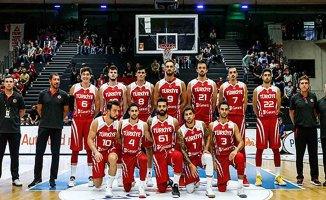 A Milli Erkek Basketbol Takımı Karadağile karşılaşıyor