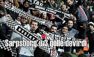 Beşiktaş Sarpsborg'u 3-1 net skorla yendi
