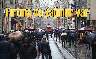 Bugün hava nasıl olacak? Marmara Bölgesi'nde yağmur ve fırtına var