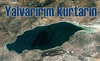 Burdur Gölü için yardım çığlığı; Kuruyor, yalvarırım kurtarın