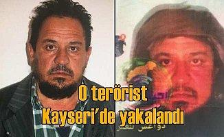 DEAŞ'in Sincar askeri sorumlusu Kayseri'de yakalandı