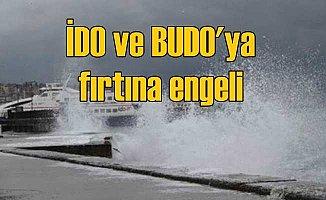 İDO ve BUDO'dan sefer iptali