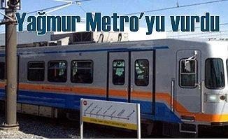 İstanbul'da ulaşım Metro seferlerini vurdu