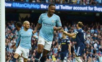Manchester City 3- Fulham 0
