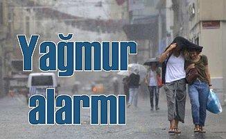 Meteoroloji'den 12 il için kuvvetli yağmur uyarısı
