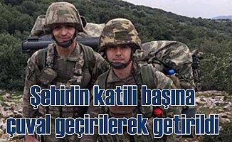 MİT, Şehit üsteğmenin naaşını kaçıran teröristi paketledi
