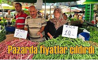 Pazarda fiyatlar çıldırdı, vatandaş şaşkına döndü