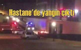 Sultanbeyli Devlet Hastanesi'nde yangın paniği