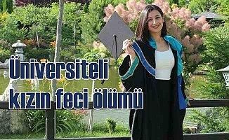 Üniversiteli Zeynep, kesilen ağacın altında kaldı