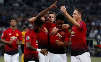 Young Boys 0- Manchester United 3
