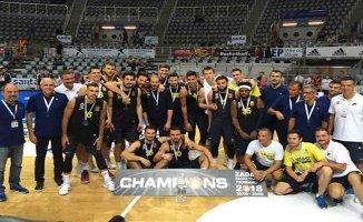 Zadar Kupası Fenerbahçe'nin