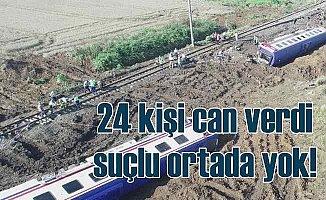 25 kişinin can verdiği tren kazasında tutuklu sanık kalmadı