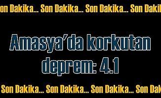 Amasya'da deprem, Amasya Gümüşhacıköy'de deprem oldu