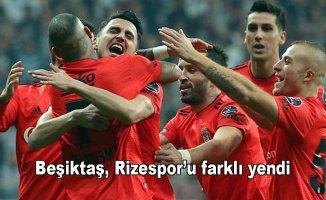 Beşiktaş 4- Çaykur Rizespor 1