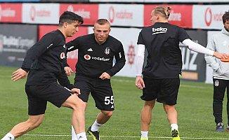 Beşiktaş Genk maçı hazırlıklarına başladı