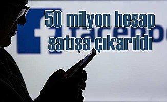 Facebook'ta büyük panik; 50 milyon hesap satışa çıkarıldı