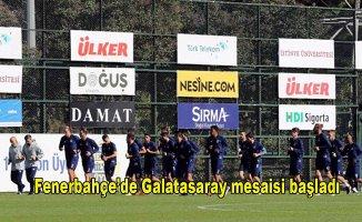 Fenerbahçe'yi Galatasaray maçına o isim hazırlıyor