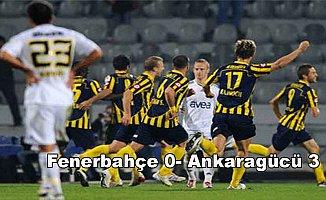 Fenerbahçe Kadıköy'de yıkıldı