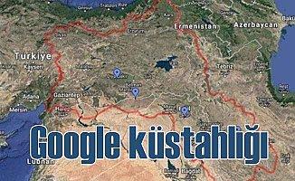 Google, Türkiye'nin yarısına 'Kürdistan' kurdu