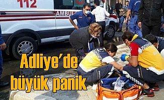 İzmir Adliyesi'nde gaz zehirlenmesi