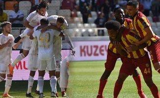 Malatya'da 8 gol bir penaltı maça damgasını vurdu