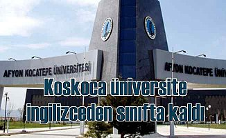 Üniversitenin dil sınavındaki yanlışlar mahkemeden döndü